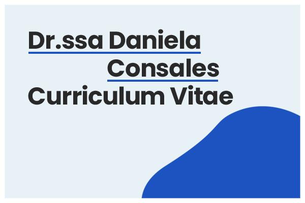 curriculum daniela consales