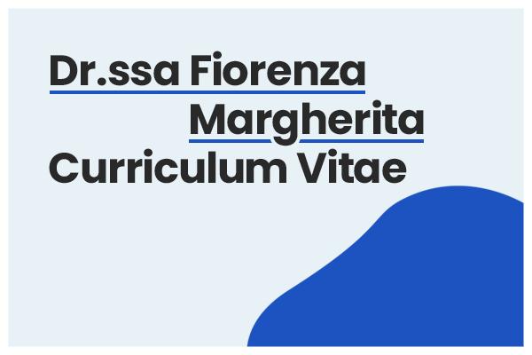 curriculum fiorenza margherita