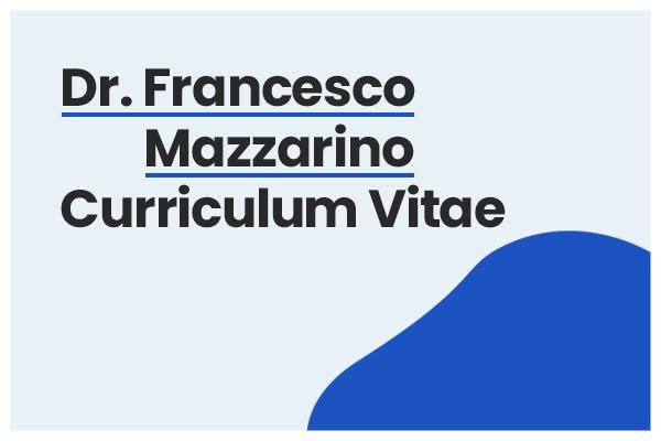 curriculum francesco mazzarino
