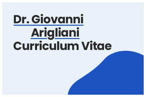 curriculum giovanni arigliani