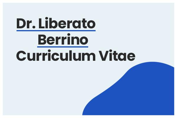 curriculum liberato berrino
